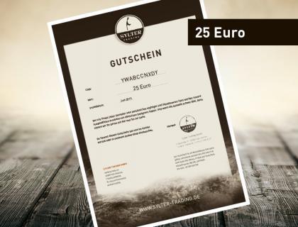 Warengutschein 25 EUR